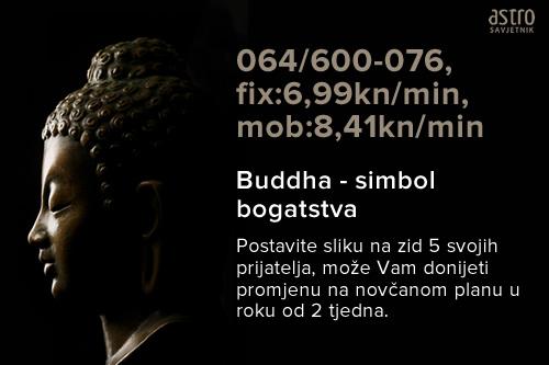Budhha moc novca